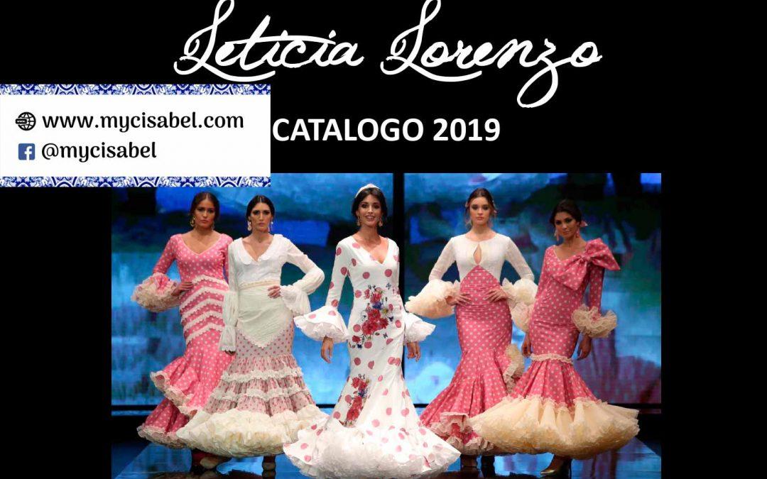 Leticia Lorenzo trajes de flamenca colección 2019