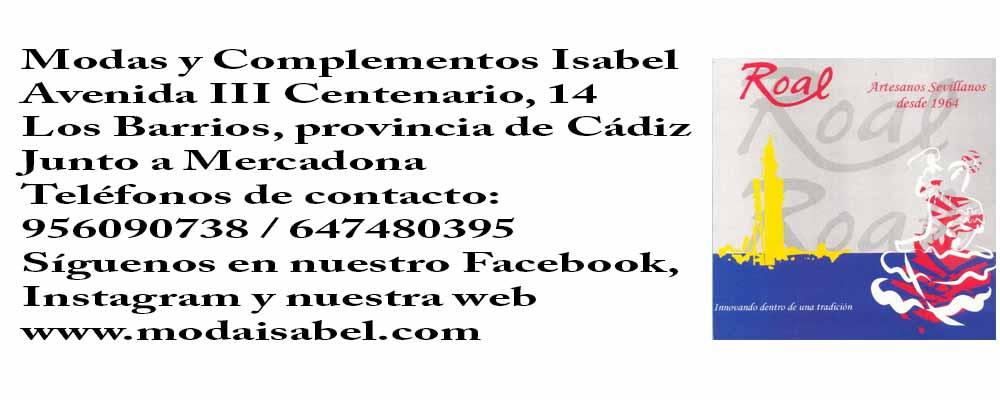Creaciones Roal: puntos de venta trajes de flamenca de Creaciones Roal