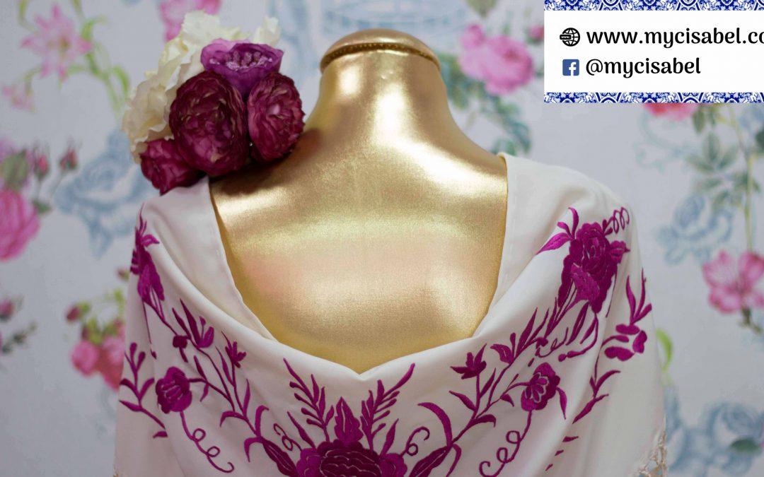 Concha Peralta mantones flamenco y complementos Florsali colección 2019