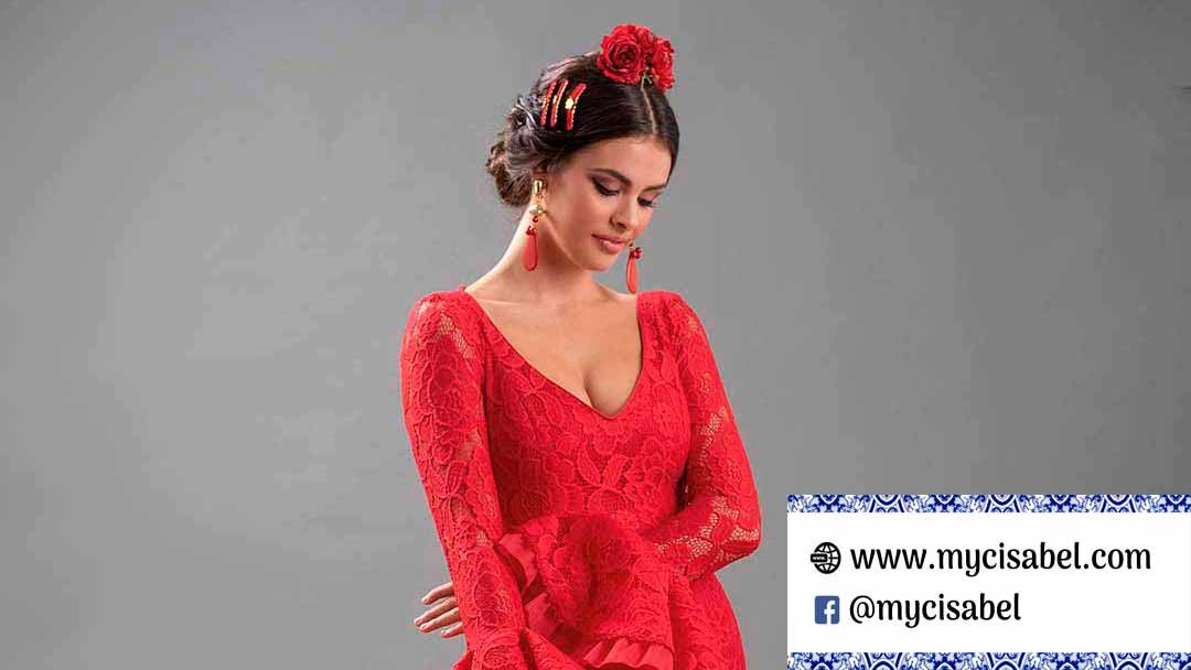 Manuela Macías trajes de flamenca colección 2019