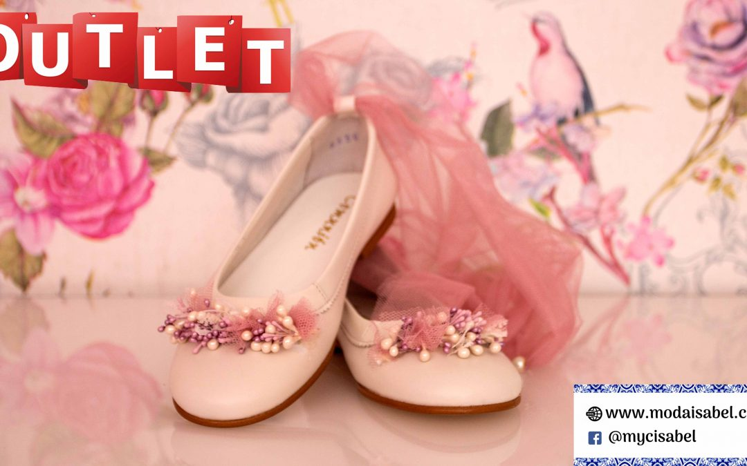 Outlet zapatos de comunión 2020: Mercedes de Alba, La Vie en Rose, Artesanía Beloso…