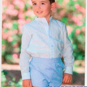 Traje 009 pantalón corto y camisa de la marca Dulce Nena