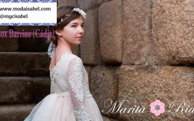 Outlet Marita Rial vestidos y trajes de comunión 2020