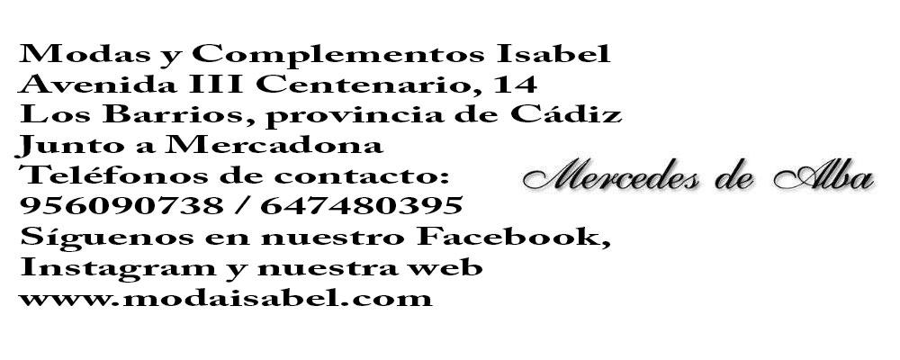 Mercedes de Alba: punto de venta de vestidos y trajes de comunión de Mercedes de Alba