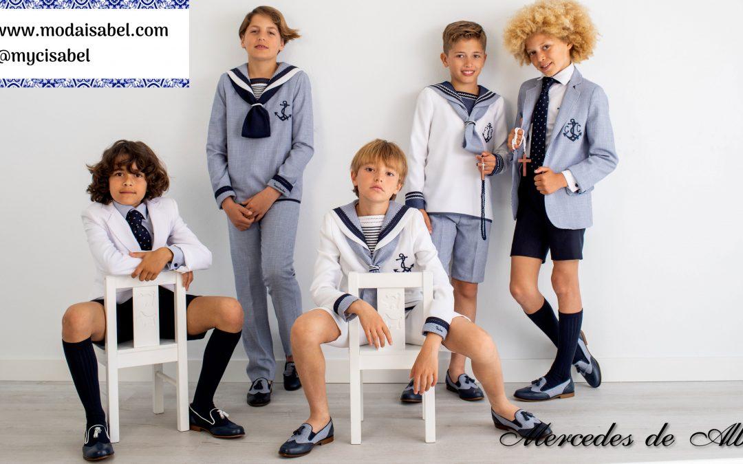Mercedes de Alba colección 2020 para niño: Mis consentidos
