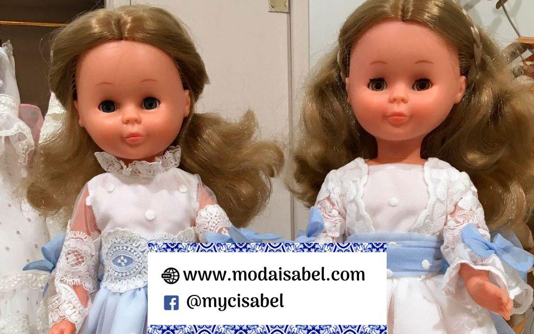 Adelanto muñecas de comunión de Artesanía de la Torre colección 2020