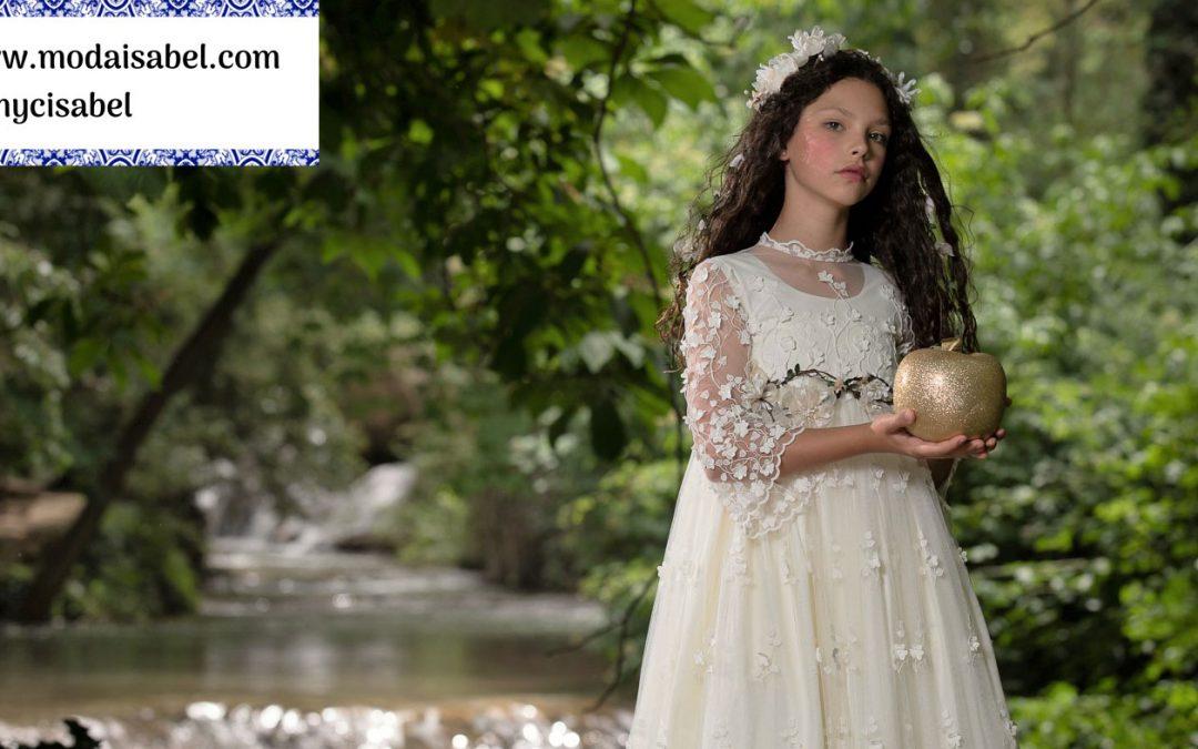 Mon Air comuniones colección 2020: modelo Blancanieves