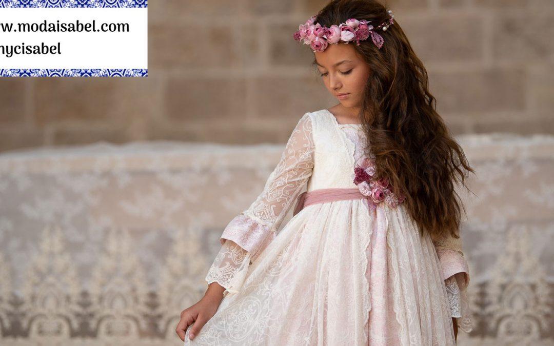 Mon Air comuniones colección 2020: modelo Anastasia