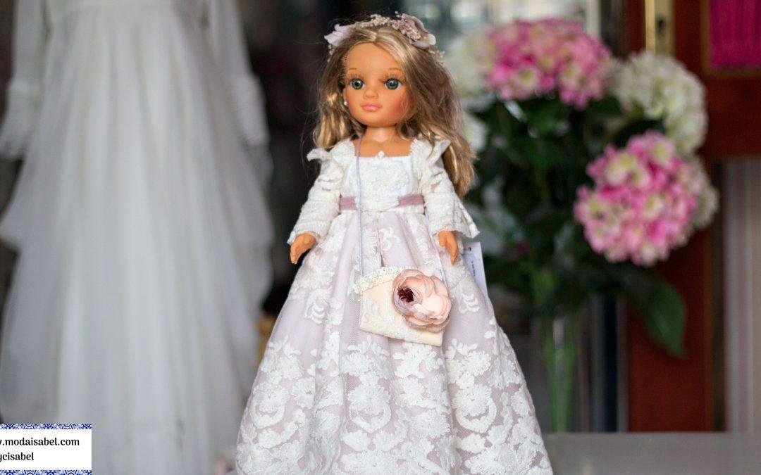 Muñecas de comunión de Mercedes de Alba colección 2020