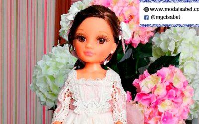 Muñecas de comunión de Marita Rial colección 2020