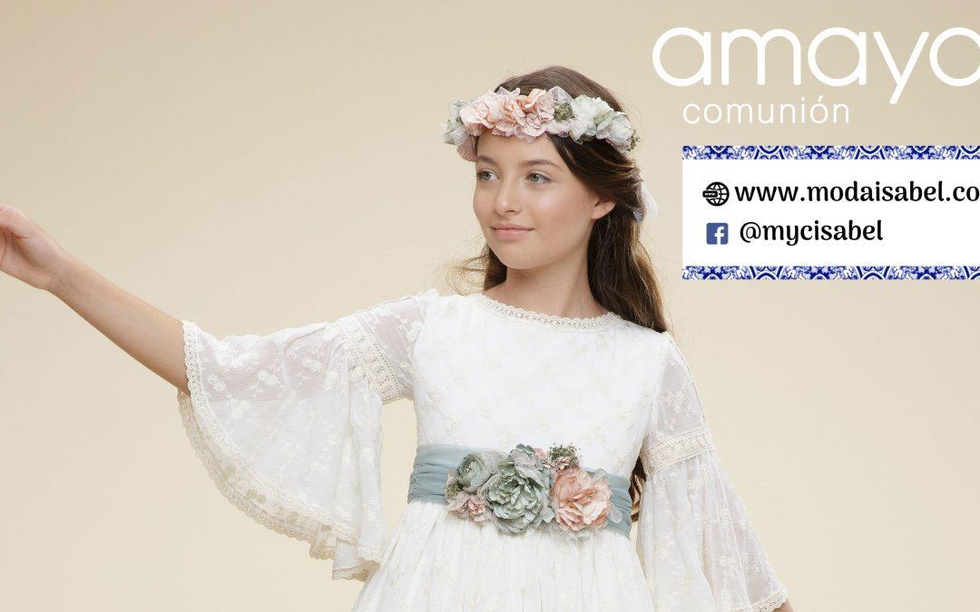 Artesanía Amaya comuniones catálogo 2021 para niña