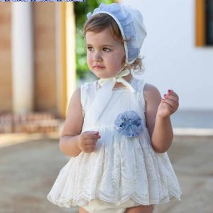 Vestido 002 blanco de la marca Dulce Nena