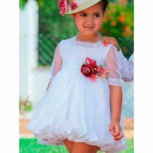 Vestido 005 blanco de la marca Abuela Tata