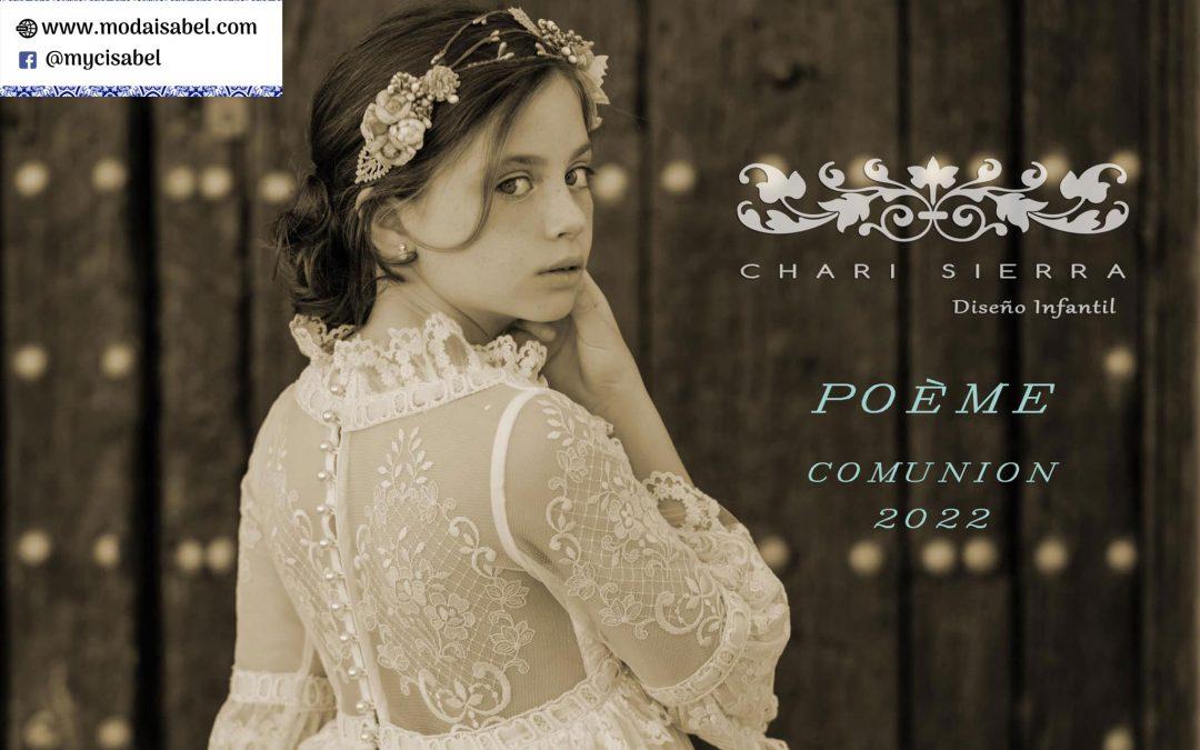 Chari Sierra: colección Poème, disponible en nuestro catálogo de vestidos de comunión 2022