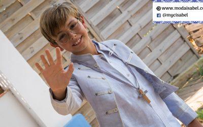 Estels D'Argent: catálogo 2022 de trajes y vestidos de comunión para niños y niñas