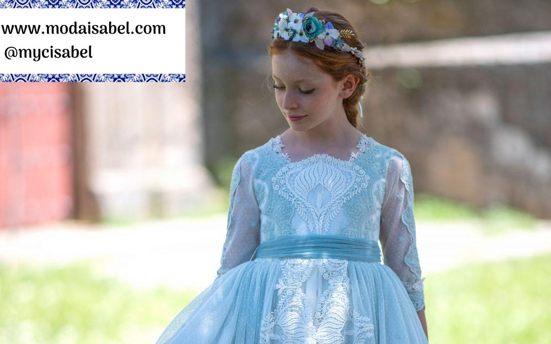 La Infantita comuniones colección 2022: modelo Valentina