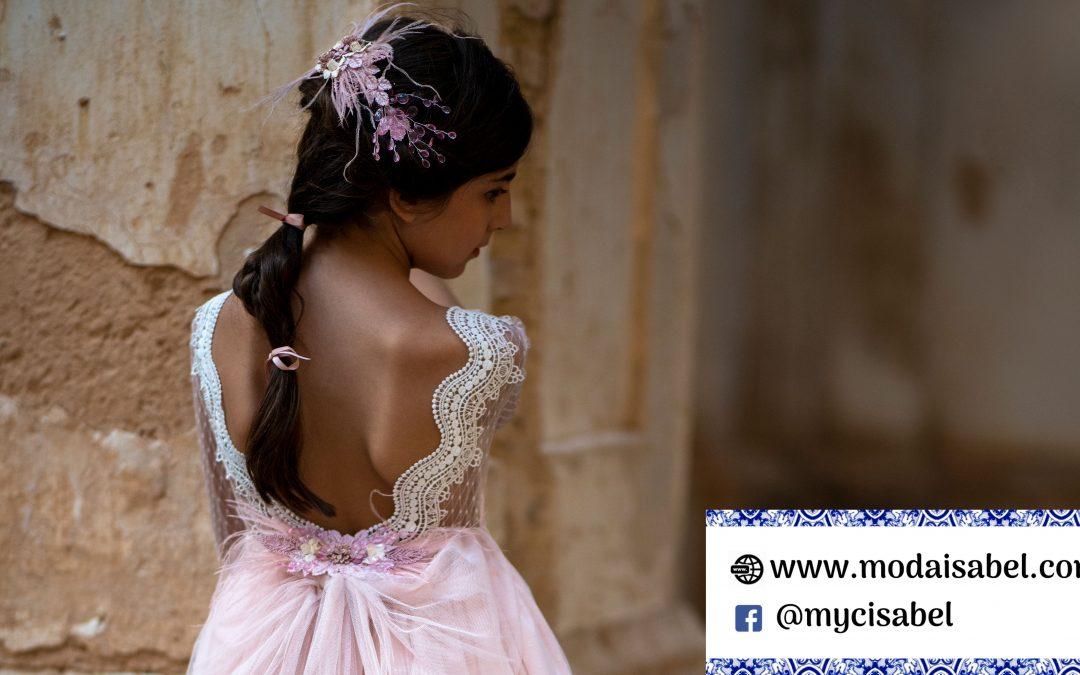 La Infantita comuniones colección 2022: modelo Adriana