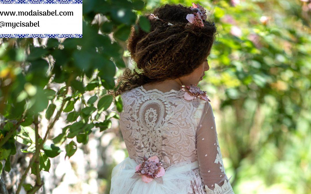 La Infantita comuniones colección 2022: modelo Lola