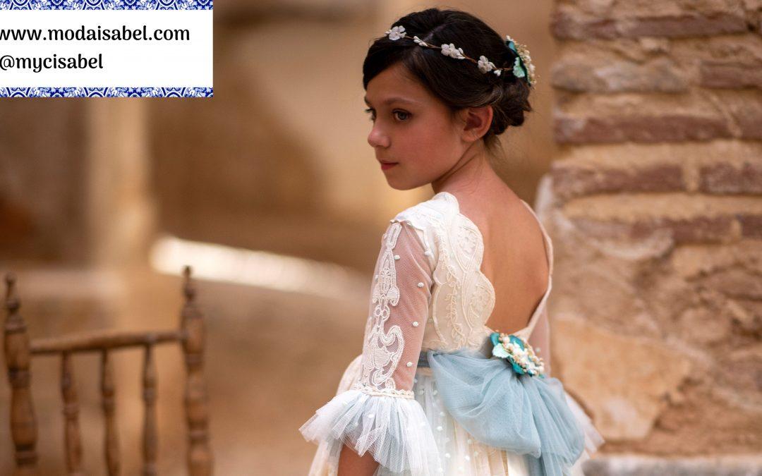 La Infantita comuniones colección 2022: modelo Manuela